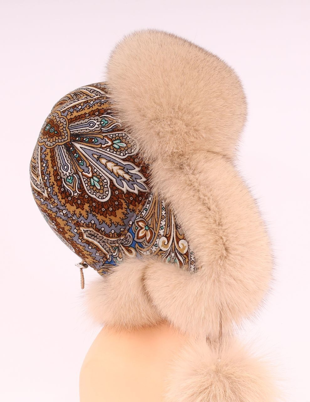 Как сшить женскую шапку ушанку из меха своими руками